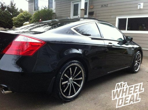 """20x8.5"""" Lexani CVX-55 Wheels and Toyo Proxes Tires on a 2008 Accord"""