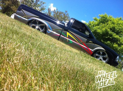 Boss Wheels 338 on a Chevy S10