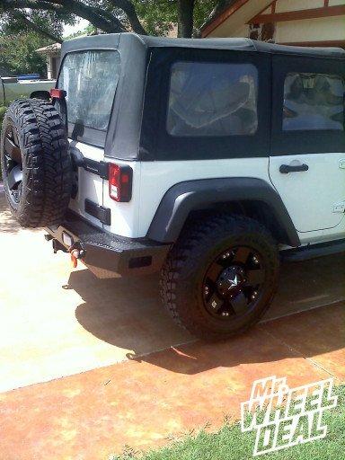 "17x9"" XD Rockstar Wheels on a 2008 Jeep Wrangler"