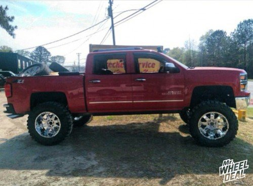 40X15.50R22 Nitto Mud Grappler tires