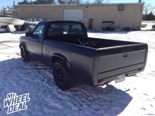"17x9"" XD Addict Wheels with 215/65/17 Federal Formoza FD2 Tires on a 1995 Dodge Dakota"