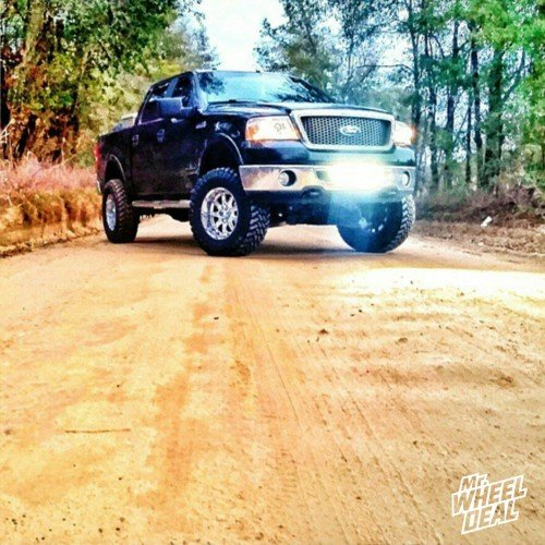2008 Ford F-150 with 35x12.50r18 Atturo Trail Blade MT tires