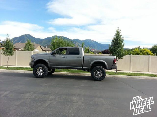 """2011 Ram 2500 with 22x12"""" Fuel Offroad Maverick Wheels with 37x13.50x22 Nitto Trail Grappler Tires"""