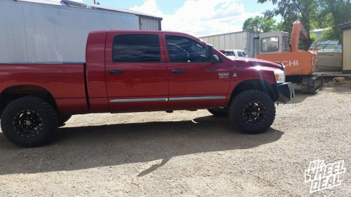 2008 Dodge Ram 3500 with LT35x12.50x17 Nitto Trail Grappler Tires