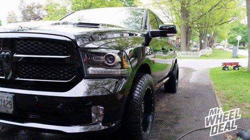 "20x10"" Fuel Offroad Maverick Wheels on a 2013 Ram 1500"