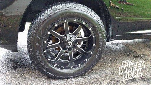 "20x10"" Fuel Off-Road Maverick Wheels on a 2013 Ram 1500"