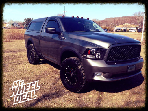 LT35x12.50x20 Federal Couragia MT Tires on a 2012 Dodge Ram 1500