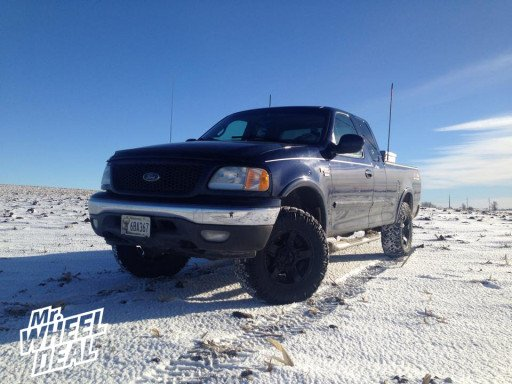 "17x8"" XD Rockstar 2 Wheels with LT285/70/17 Nitto Trail Grappler MT Tires on a 2002 Ford F-150"