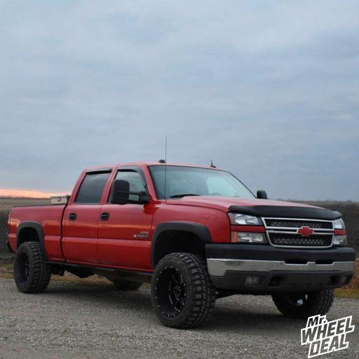 """20x12"""" Gear Alloy Big Block wheels with LT33x12.5R20 Federal Couragia MT tires on '05 Chevy Silverado 2500HD"""