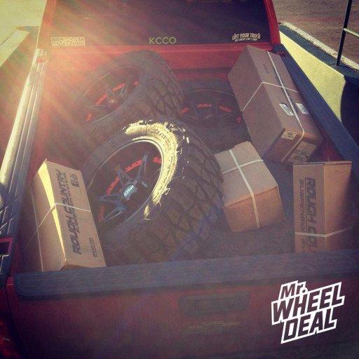 Moto Metal 961 Matte Black Wheels with Nitto Mud Grappler Tires