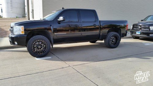 2008 Chevy 1500 with 20x10 RBP 89R 0mm wheels and LT305/55/20 Toyo Open Country AT 2 tires