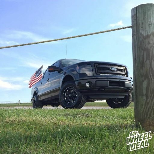 2013 F150 with 18x9 Fuel Boost  wheels and LT275/70/18 Nitto Terra Grappler G2 tires