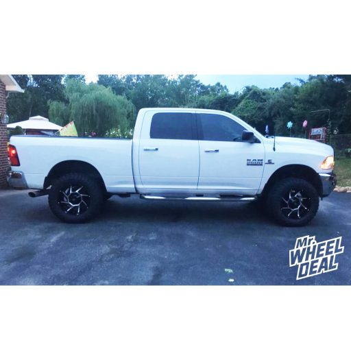 2015 Ram 2500 with 20x9 Black Vision Prowler -12mm wheels and 35X12.5R20LT Atturo Trail Blade MT tires