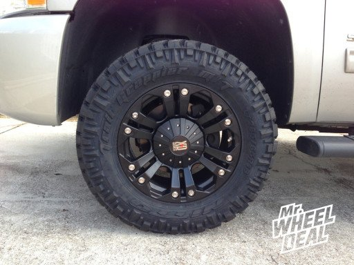 """18"""" XD Series 778 Wheels and Nitto Trail Grappler Tires"""