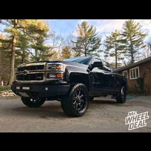 2015 Chevy Silverado 1500 with 20x9 Fuel Offroad Maverick wheels and LT305/55/20 Toyo Open Country RT tires