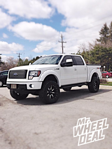 20x10 Fuel Nutz Wheels with Nitto Trail Grappler Tires on a 2011 Ford F-150